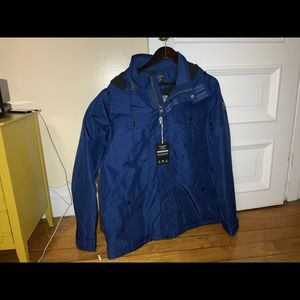 NWT ABERCROMBIE FITCH men's all weather coat XXL.